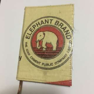 Elephant notebook made from Recycled materials