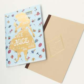日本版 - Afternoon-tea X Disney Alice in wonderland Fantastic Tea Party系列B6 planner 年曆 迪士尼愛麗絲年曆簿