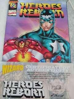 Heroes Reborn 1/2 With Certificate COA Comic