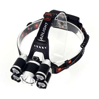 Powerful 5x LED Headlamp Headlight Flashlight Head Light Lamp Torch For Fishing Hiking Camping