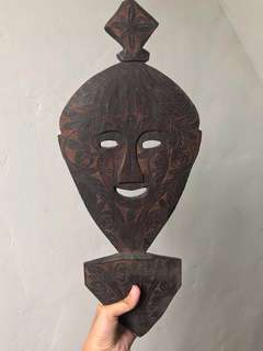 Mexican Tribal Wooden Mask