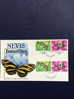 Nevis FDC As in Pictures
