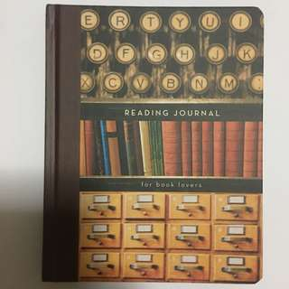 Reading Journal by Potter Style - Brand New