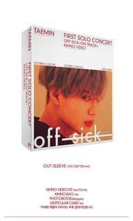 Taemin 1st Solo Concert - Off-Sick On Track (Kinho Video)