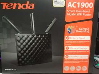Tender router AC15 AC1900雙頻