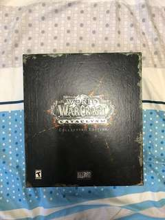 🚚 WOW World of Warcraft Cataclysm Collector's Edition Limited Collectibles
