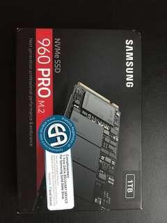 Samsung SSD 960 Pro 1 TB NVMe M.2 [BNIB]