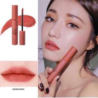 FREE NM // 3CE Velvet Lip Ting #GOING RIGHT