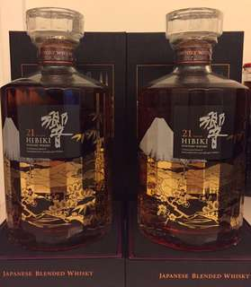 響21 花鳥風月 機場 特別版 Hibiki 21 YO Fugetsu 700ml 威士忌 (余市/山崎/白州 珍藏)