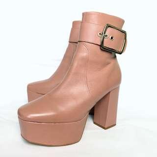 Kurt Geiger Pink Sweetheart Boots