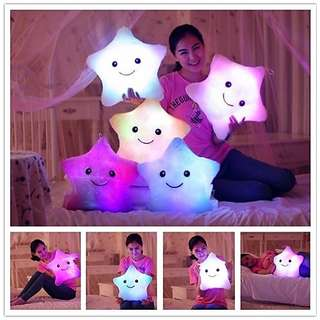 Luminous Pillow Led Light Star Shape Stuffed Animal Plush Toy (free delivery!)