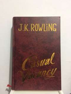 The Casual Vacancy - JK Rowling