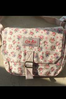 Authentic n new Cath Kidston cotton cross-body Floral bag