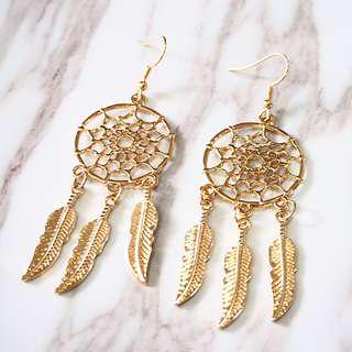 🚚 *instocks* MIDNIGHT DREAMCATCHER EARRINGS