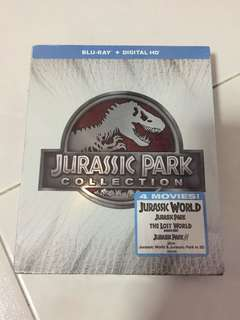 Jurassic Park Collection Bluray 3D/Bluray/Digital