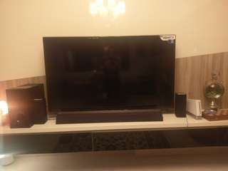 TV & Sound Bar Bundle