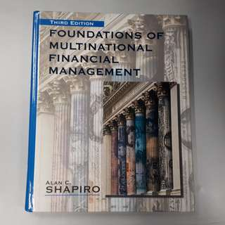 Foundations of Multinational Financial Management (Hardcover Book)