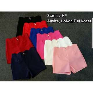 Hotpants scallop