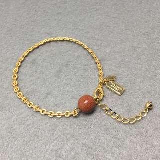 Kate Spade New York Sample Bracelets 金色配金沙石波波手鏈