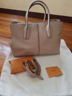 TOD'S D-Styling Shopping Bag