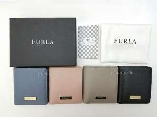 全新現貨 Furla Leather Wallet 有散子位銀包