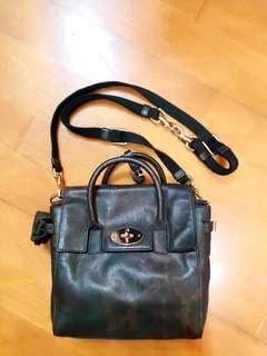 Mulberry Mini Cara Bag Backpack Khaki 真皮迷彩4用背包