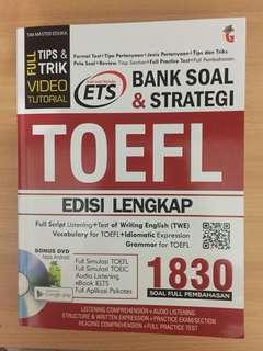Bank Soal & Strategi TOEFL Standard ETS lengkap dengan CD-nya