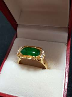 Antique Jade Ring (A1) 古玉