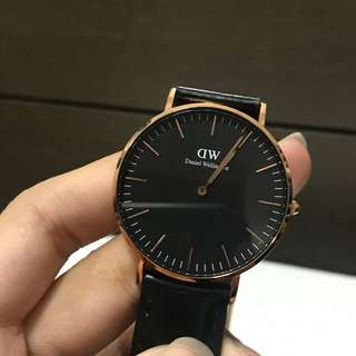 Daniel Wellington Classic Black Sheffield Watch 36 mm
