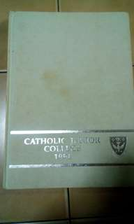 Cjc Catholic Junior College Year Book 1994