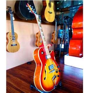 Used RARE PIECE Toyama TX101CS Jazz guitar