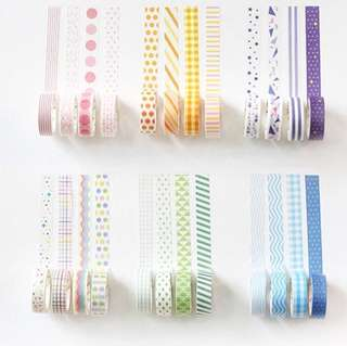 [PO OPEN]washi tapes!!