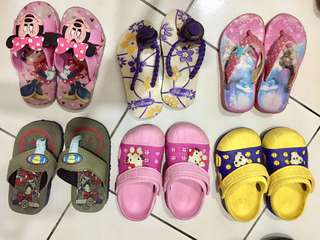 ❣️kids sandals in bundle