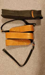 CamStrap - 2 sided premium leather camers strap