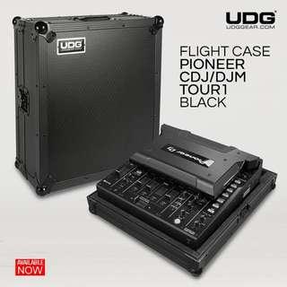 UDG Ultimate Flight Case Pioneer CDJ/ DJM TOUR1 Black