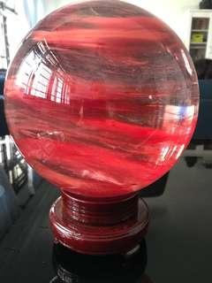 红幽靈水晶球