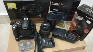 Nikon D5000 set