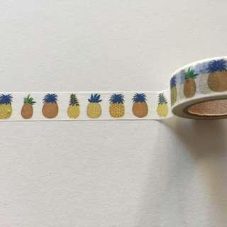 Pineapples GJ115 Washi Tape 15mm x 10m