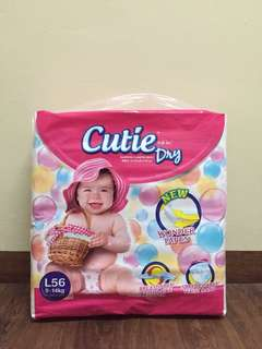 Cutie Dry Pampers (Size L)