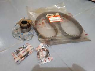 For honda civic 97 model. For sale timing belt. tensioner.oil seal.
