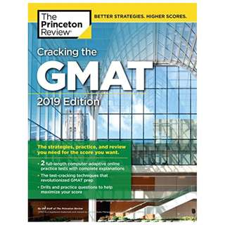ebook: Princeton Review-Cracking the GMAT with 2 Computer-Adaptive Practice Tests, 2019 Edition