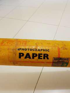 Kodak Bromesko photographic paper roll