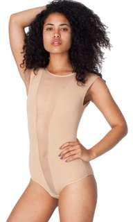 NWT American apparel gloria v neck bodysuit