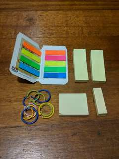🚚 [*FREE*] Post It Notes and Card Stock Binder Clips Giveaway