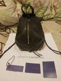 Rebecca Minkoff 真皮背囊 Convertible Mini Julian Backpack 黑色背包