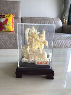 Resin handcrafted Guan Yu
