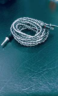 8 Core SPC/Silver Hybrid Cable, with 7N wires.