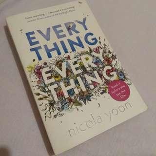 Everything, Everything (Nicola Yoon) PRELOVED