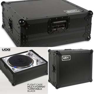 UDG Ultimate Turntable Flight Case Black