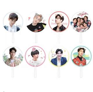 [PO OPEN] GOT7 TRANSPARENT FANS